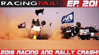 Racing and Rally Crash Compilation 2019 Week 201