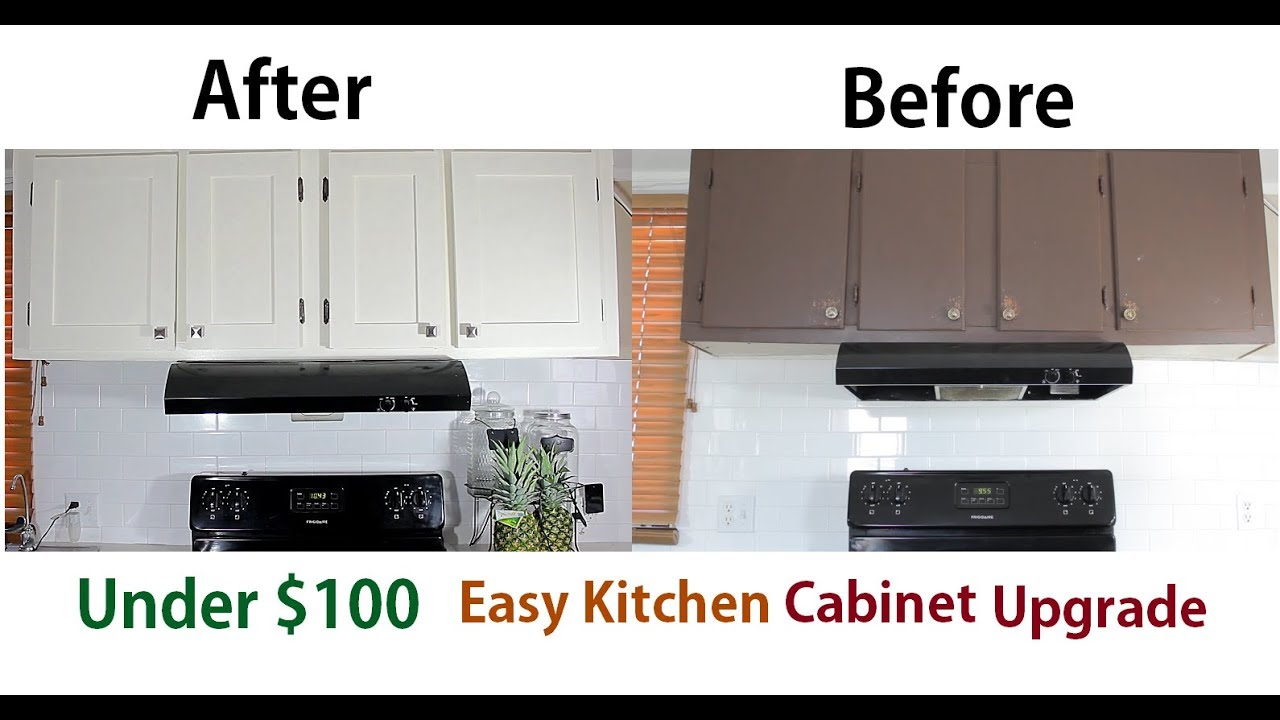 How To Upgrade Reface Kitchen Cabinets For Cheap