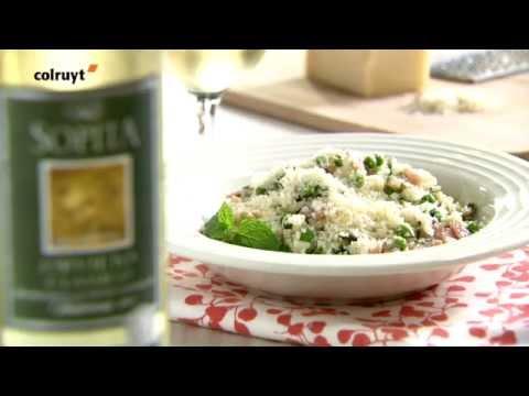 recette-risotto-cantonnais-à-la-menthe-et-aux-noix-de-cajou---colruyt