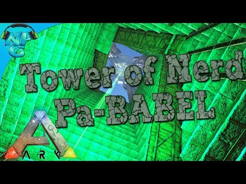 The Colossal Tower of Nerd Pa-BABEL Build and Best Friend Taming! Nerd Parade's Game of Obelisks! E5