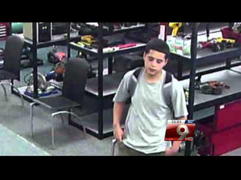 Teen arrested for string of armed robberies