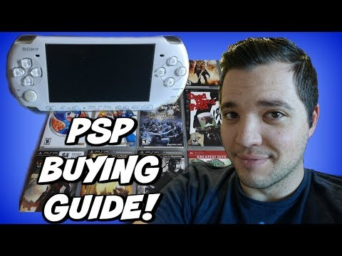 PSP Buying Guide  (And 15 Must Own Games!)