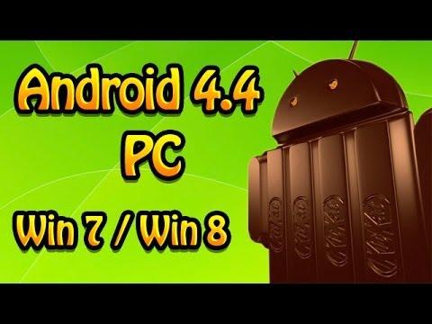 Instalar Android 4.4 en Pc Win7 / Win8 / Usb
