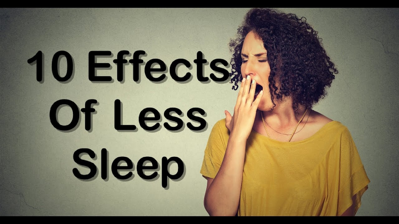 effects of not getting enough sleep Not getting enough sleep can have serious effects on a person emotionally who would be in a good mood when they are tired when the body tries to run on fumes it does not leave enough.