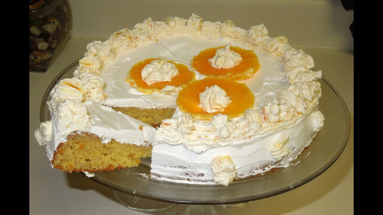 How To Make Eggless Orange Cake
