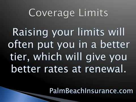 KAIS Auto Insurance Tip 2 - Limits