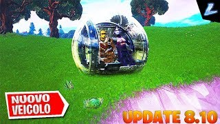 Fortnite - 🔴NEW PATCH 8.10! NEW VEICOLO, NEW AND LEAKS!🔴 CREATOR CODE↪️ HYP3RLEGIT