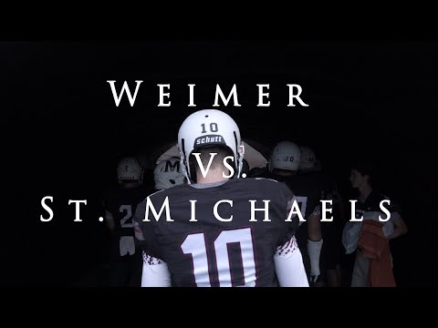 St. Michael's vs. Weimar High School | Texas High School Football 2018