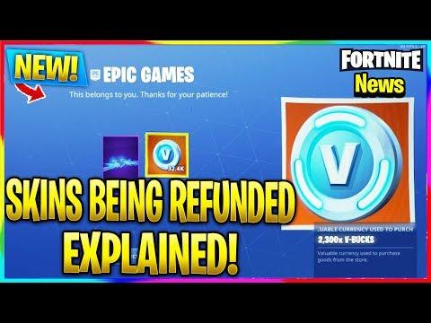 Does Epic Games Have A Refund V Bucks - Fortnite V Bucks ...