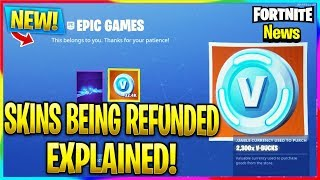 "'NEW' FORTNITE ""GRATUIT"" VBUCKS DE EPIC EXPLAINED! Fortnite Battle Royale Nouvelles"