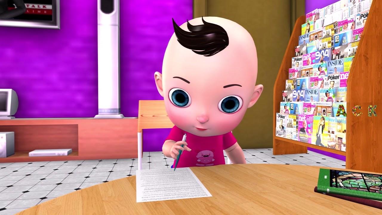 A Tisket A Tasket Kids Nursery Rhymes and Songs