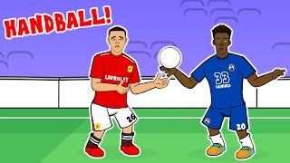 Hudson-Odoi Handball?🤜🏾⚽ (Chelsea vs Man Utd)