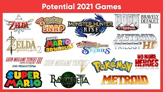 Nintendo's 2021 Lineup Hinted By Monster Hunter Rise Reveal