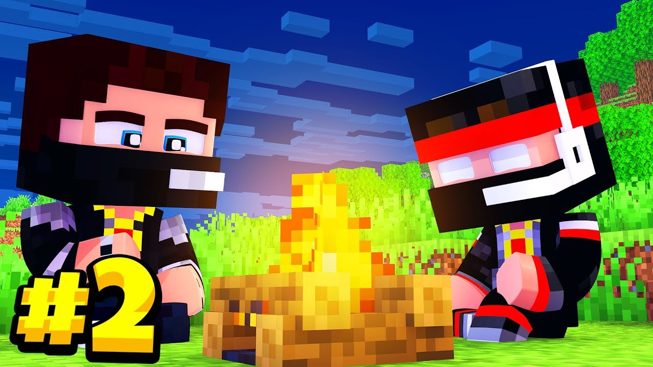 Прохождение игры майнкрафт с мистиком и лагером новые серии 2016