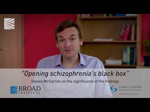 Steven McCarroll on the significance of the C4 schizophrenia findings