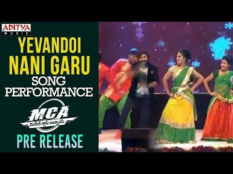 Yevandoi Nani Gaaru Song Dance Performance @ MCA Pre Release Event|| Nani, Sai Pallavi || DSP