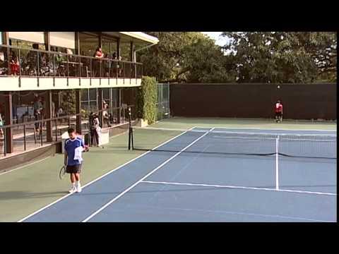 2015 Boys Tennis: Punahou vs. 'Iolani (March 17, 2015)