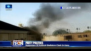 Many Injured As APC And PDP Supporters Clash In Kano Pt.2 21/02/19 |News@10|