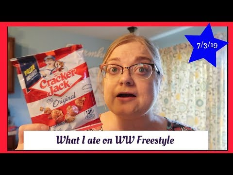 what-i-ate-on-weight-watchers---july-3,-2019---cracker-jack-debacle