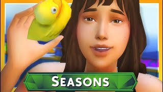 FIRST DAY OF SUMMER + WEDDING PLANS!  THE SIMS 4 // SEASONS — 5