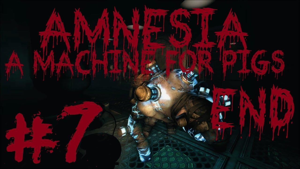 amnesia a machine for pigs story