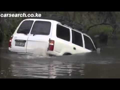 Toyota Land Cruiser- Solution for Nairobi Flooding.