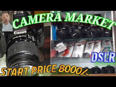 Cheapest Second Hand DSLR Market  In Kolkata  CANNON\NIKON\SONY STARTING Rs.8000/-   By sunilempire