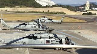 南紀白浜空港で、米軍機の故障現場に偶然出くわしました。目の前で飛ん...