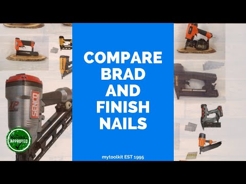 A comparison of 16 gauge and 18 gauge brad nails youtube a comparison of 16 gauge and 18 gauge brad nails keyboard keysfo