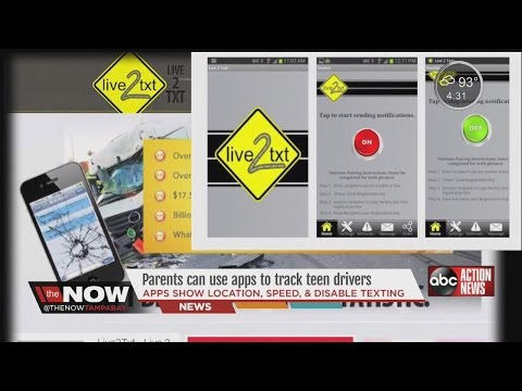 Phone Apps Help Keep Teen Drivers Safe