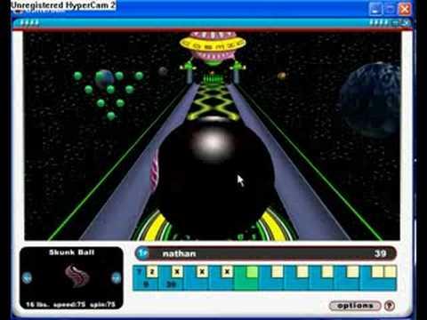 Miniclip Gutter Ball Gameplay #2