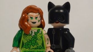 Lego DC: Poison Ivy & Catwoman - Custom Minifigure Showcase
