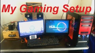 MY GAMING SETUP ROOM TOUR!! 500 SUBSCRIBERS SPECIAL