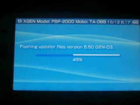 flash psp 5.50 gen-d3