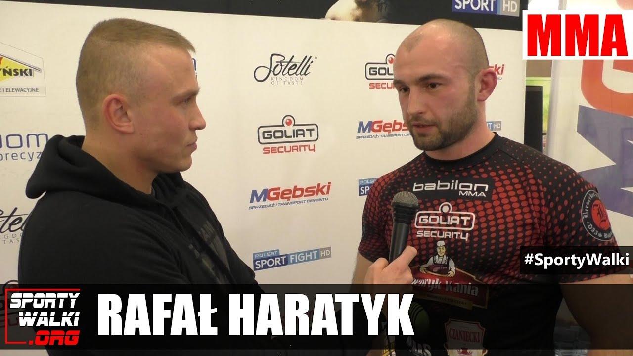 Babilon MMA 3: Rafal Haratyk o walce z Johanem Rommingiem
