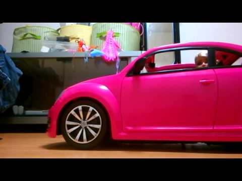 Barbie Volkswagen the Beetle Toy Review/Unboxing