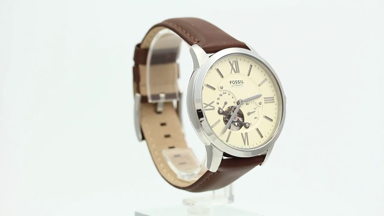 Fossil Me3064 Watchiacom Youtube Jam Tangan Automatic Brown Leather Me3027 Fossilwatch Fossiltownsman