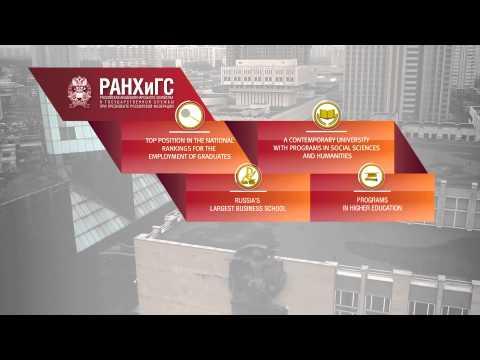 Presentation of RANEPA (english)