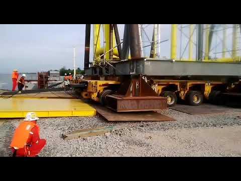 YC LOGISTICS SDN BHD Bayan Redevelopment Project Loadout&Ballasting Work Cellar Deck