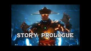 Mortal Kombat 11 Story Prologue & Intro + Raiden Gameplay (MK11 Gameplay)