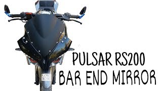 Bar End Mirror For Pulsar RS200