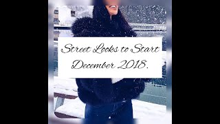 30+ The Most Chic and Warm Winter Street Looks Ideas to Start Your Fashionable December.