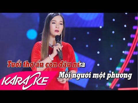 Hồi Tưởng Karaoke - Đào Anh Thư | Nhạc Vàng Bolero Karaoke