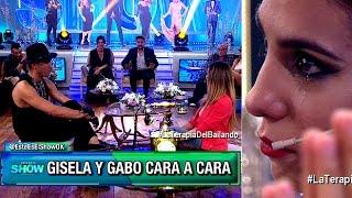 Gisela Bernal y Gabo tuvieron una áspera charla cara a cara