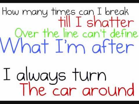 Shattered - O.A.R (Lyrics on Screen)