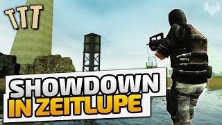 Showdown in Zeitlupe - ♠ Trouble in Terrorist Town ♠ - Let's Play TTT - Dhalucard