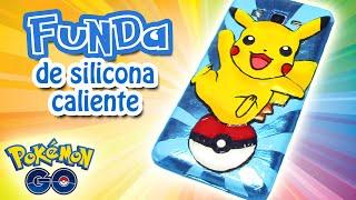 Manualidades: FUNDA de SILICONA CALIENTE Pokémon - Innova Manualidades