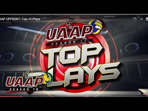UPFRONT at the UAAP FEB 14, 2016 PART 1