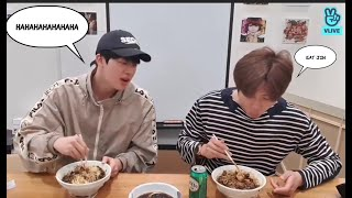 BTS RM AND JIN (NAMJIN) - VLIVE WITH ENGLISH SUB