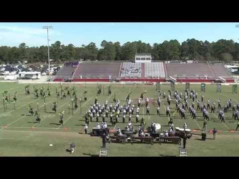 2014 North Augusta High School Jacket Regiment at 3A SCBDA Lower State